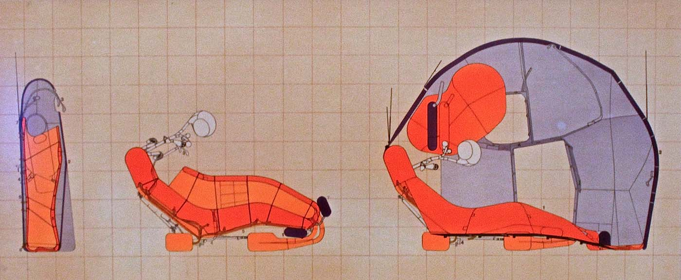 Archigram (Michael Webb), Cushicale—Opening Sequence (1966)