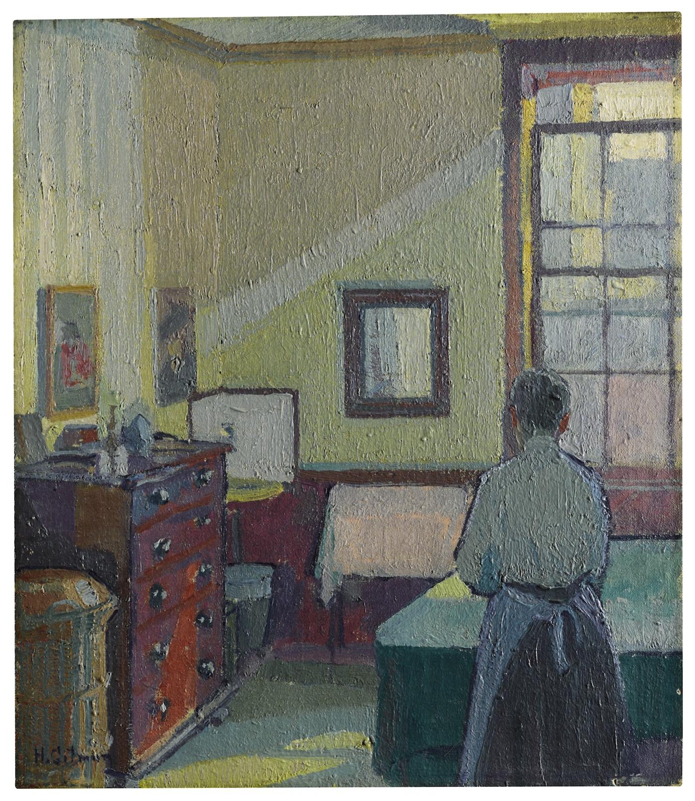 Harold Gilman, Interior (Mrs Mounter)