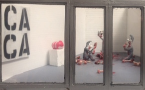 Post image for A Miniature Version of the Broad Museum Parodies the Art World