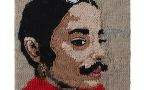 """Post image for An """"Act of Love"""": Knitted Portraits of Feminist Artists and Their Work"""