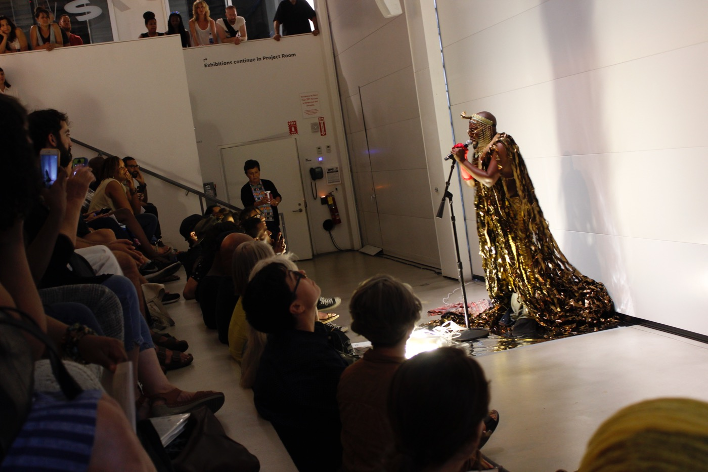 """Jaamil Kosoko performing """"Dialectic of Light and Dark"""""""