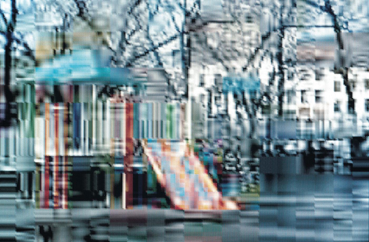 "Olaf Rauh, ""Playground #11"" (2001) (image courtesy Galerie Richard)"