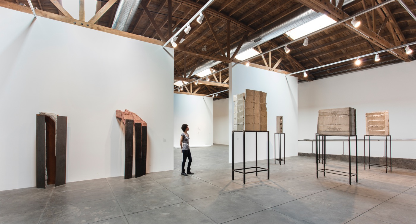Installation view, 'Revolution in the Making, Abstract Sculpture by Women, 1947 – 2016', Hauser Wirth & Schimmel, 2016 Courtesy the artists and Hauser & Wirth Photo: Brian Forrest