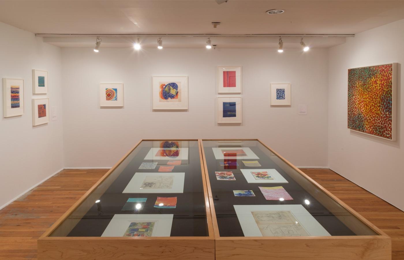 Alma Thomas (installation view) The Studio Museum in Harlem (Photo: Adam Reich)