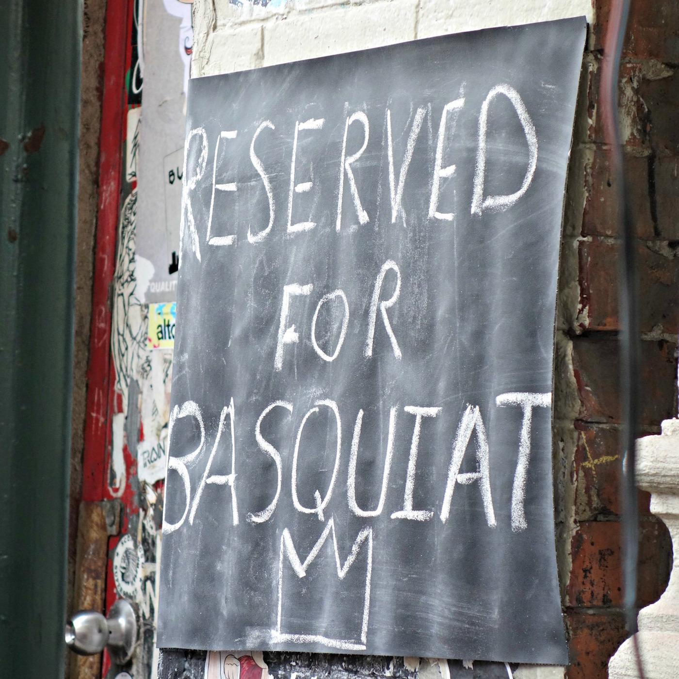 Jean-Michel Basquiat plaque unveiling