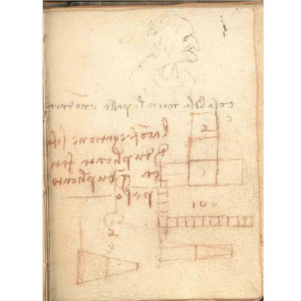 Leonardo Da Vinci U0026 39 S Earliest Notes On Friction Found In