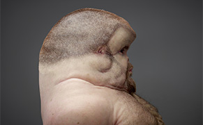 Post image for A Sculptor Imagines a Human Designed to Survive Car Crashes