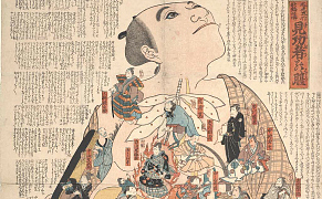 Post image for Human Anatomy as Portrayed in Woodblocks of 19th-Century Kabuki Actors