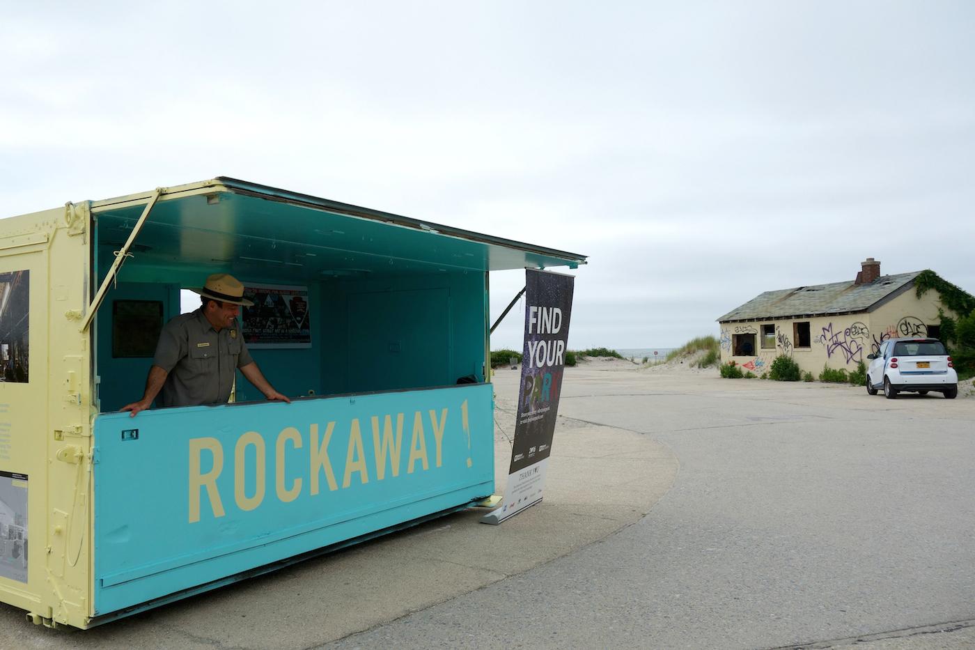 National Park Service station for 'Rockaway!'