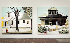 Post image for Paintings of Detroit Ruins that Ring True