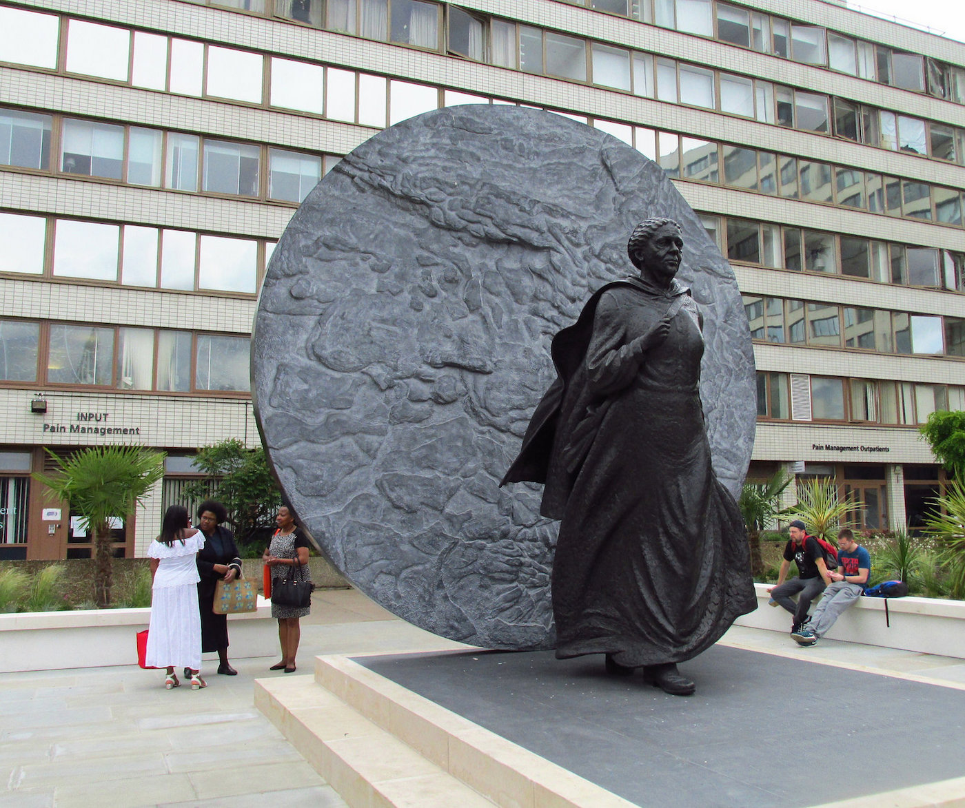 The statue of Mary Seacole unveiled in London (photo by David Holt/Flickr)