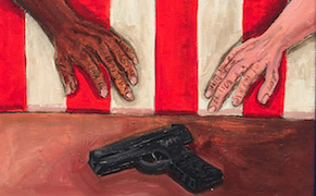 Post image for In Cleveland, Two Artists Picture the Ugly Realities of American Politics
