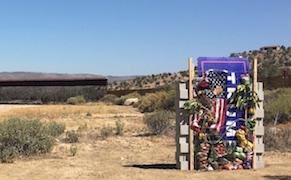 Artists Start to Build Trump's Border Wall, Using Anti-Trump Art