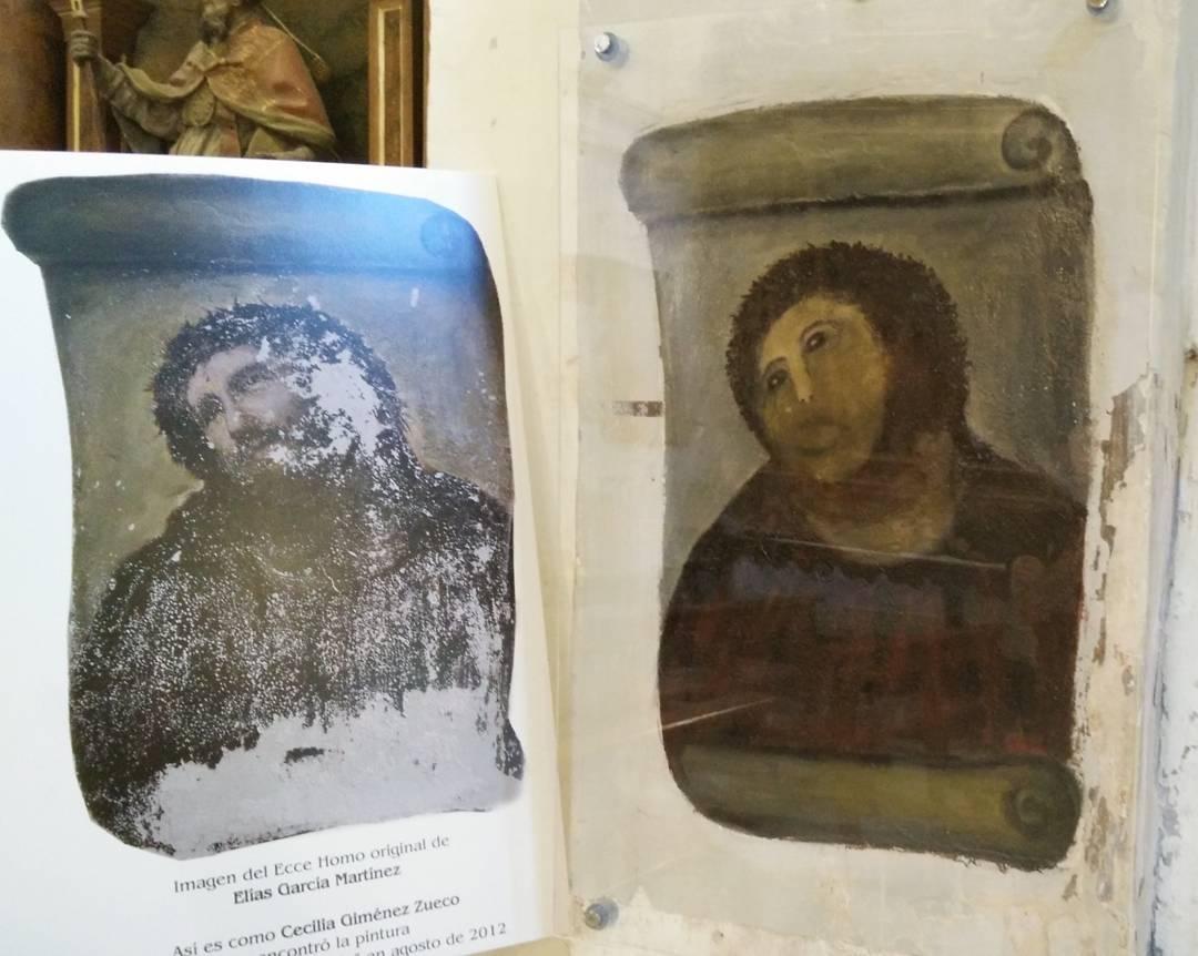 """Beast Jesus,"" right, alongside its former self (photo via @jooohnny32/Instagram) (click to enlarge)"