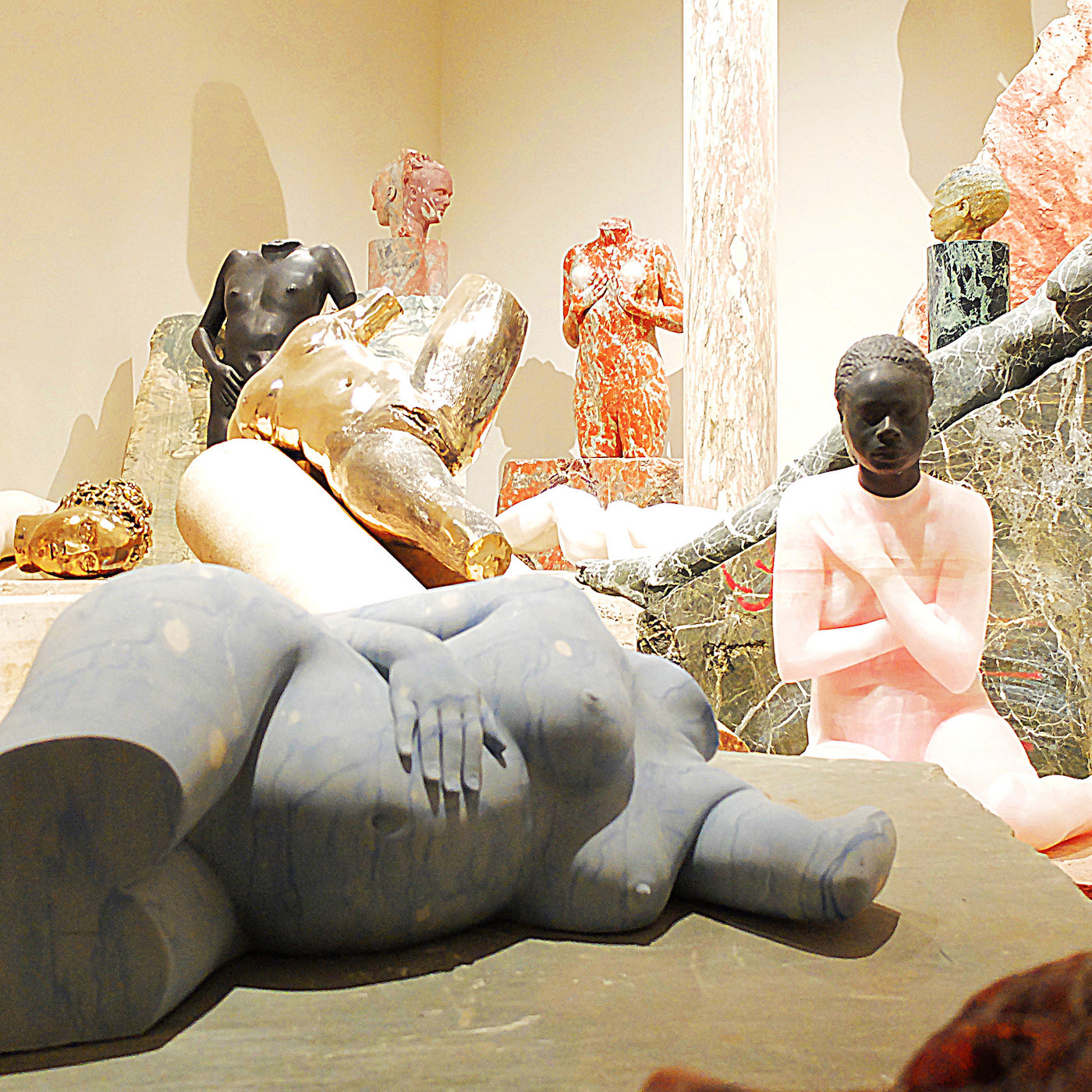 "Vanessa Beecroft, ""Le Membre Fantôme"" at the 2015 Venice Biennale (photo by Fabio Omero via Flickr, used under CC BY-SA 2.0 license) (click to enlarge)"
