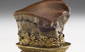 Post image for Mouthwatering Qing Dynasty Sculpture of Braised Pork Belly Leaves Asia for First Time