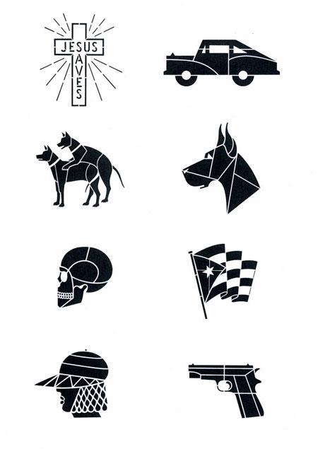 Anton van Dalen_Stencil selection