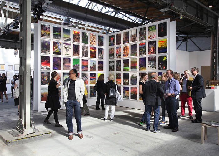 abc installation view, 2015, Blain Southern, Marius Bercea, Photo: Marco Funke