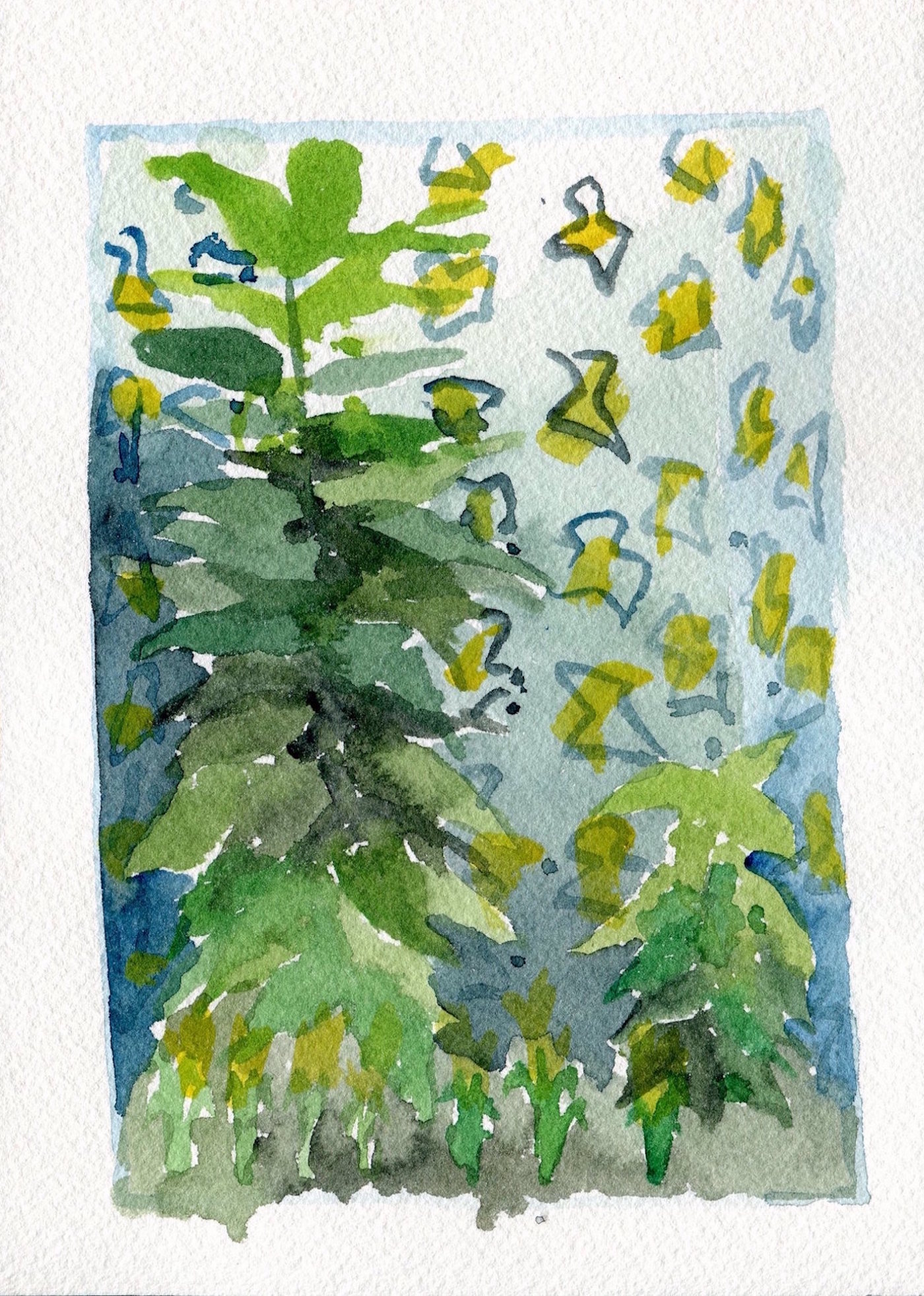 Burle Marx Watercolor2.0cu2t