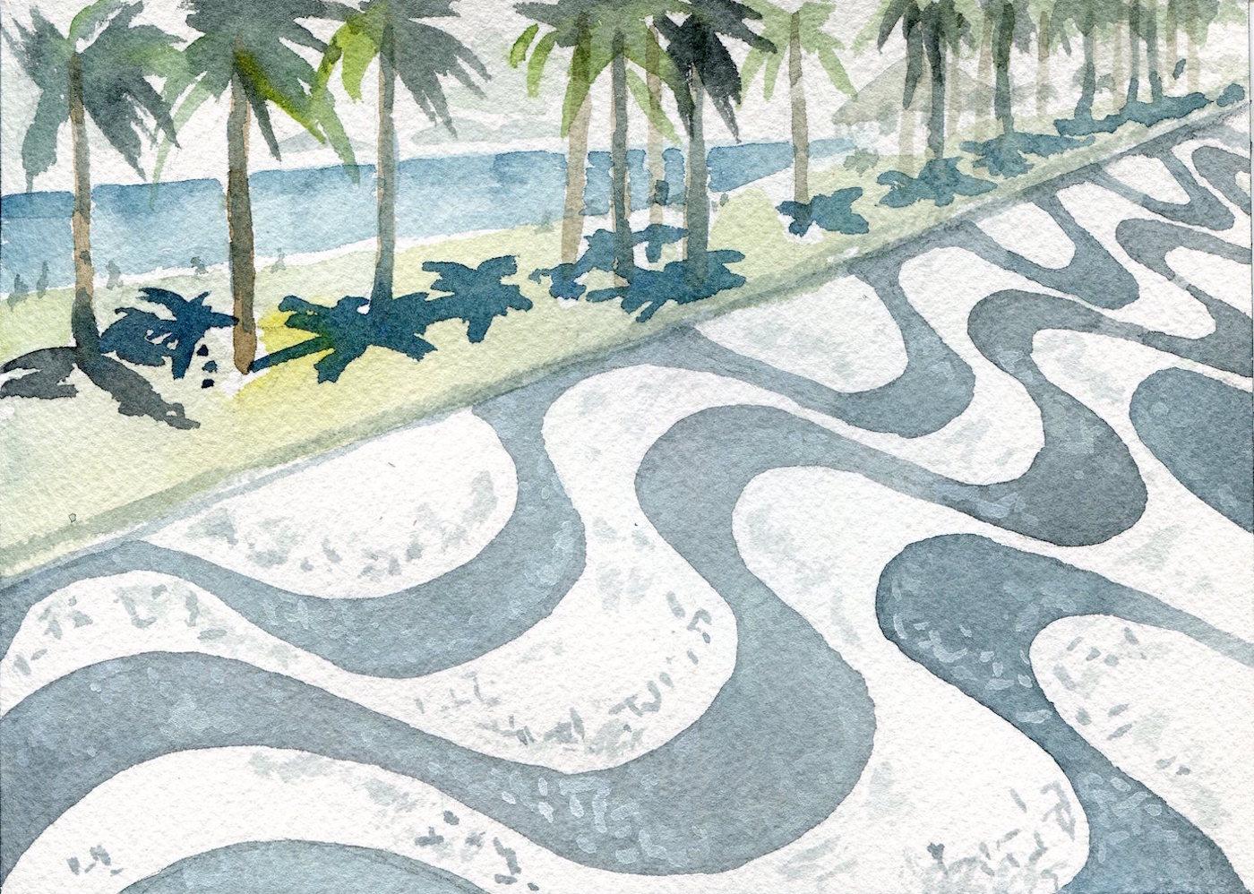 Burle Marx Watercolor6