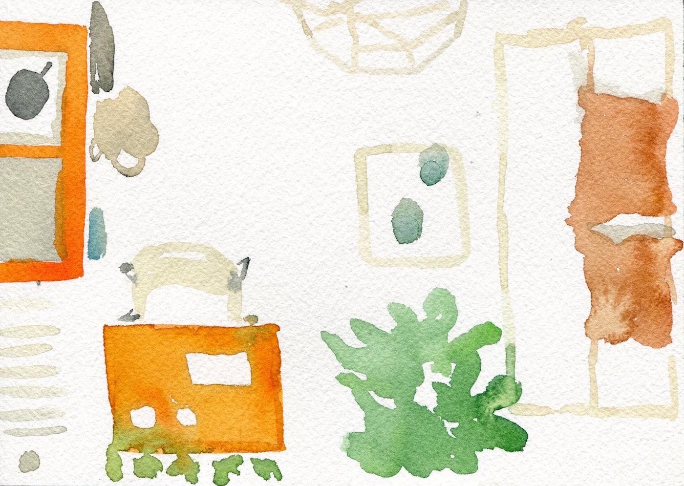 Burle Marx Watercolor8