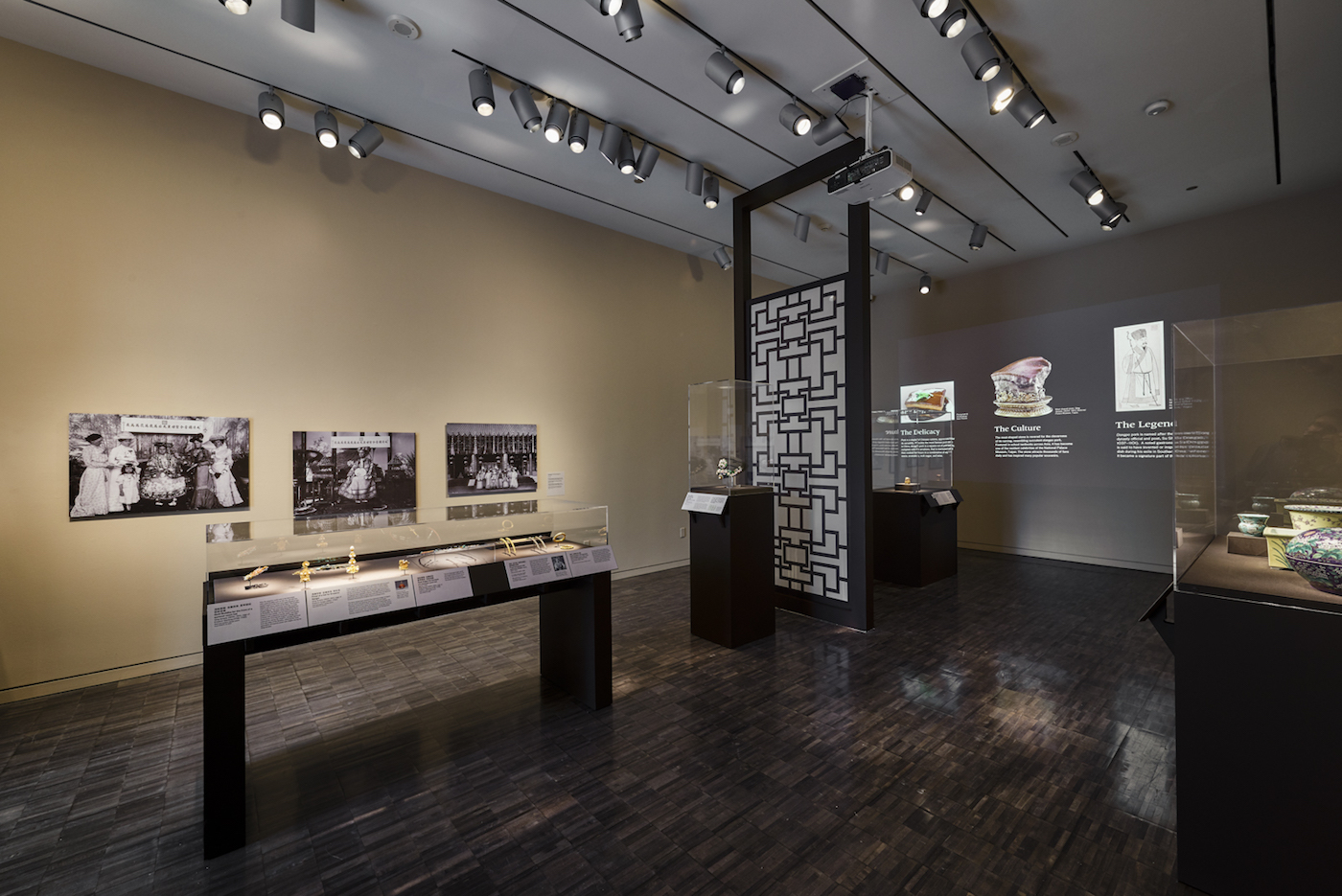 Exhibition view of Emperors' Treasures at the Asian Art Museum