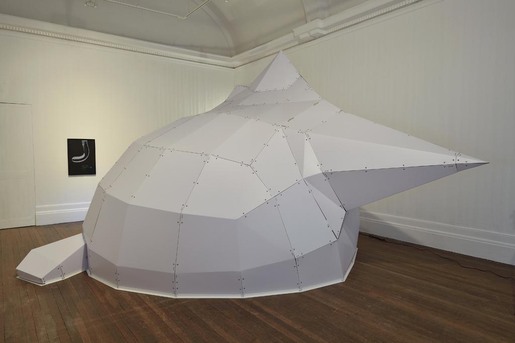 "Mark Leckey, ""FEELINTHECAT"" (2016), installation view"