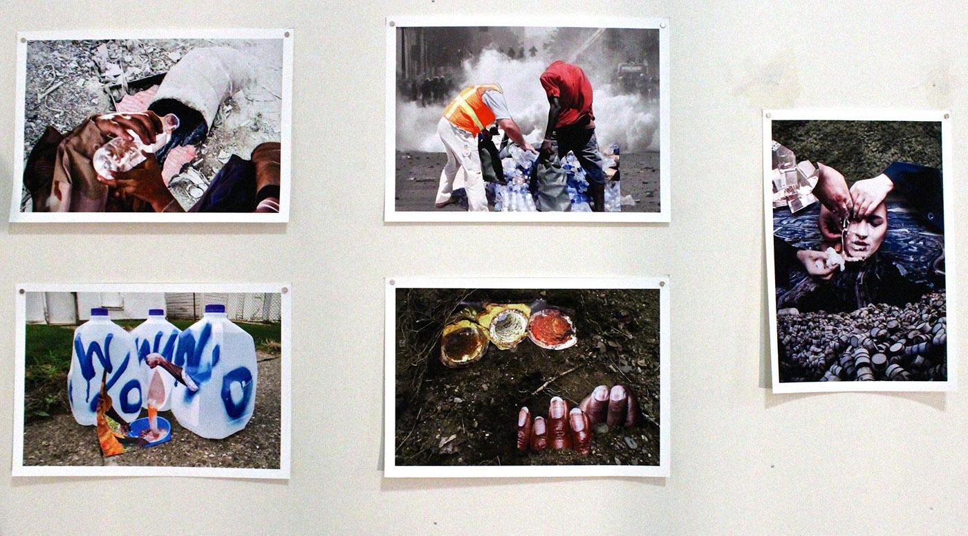 Shanna Merola, We All Live Downwind Series #1-6, archival inkjet pigment prints