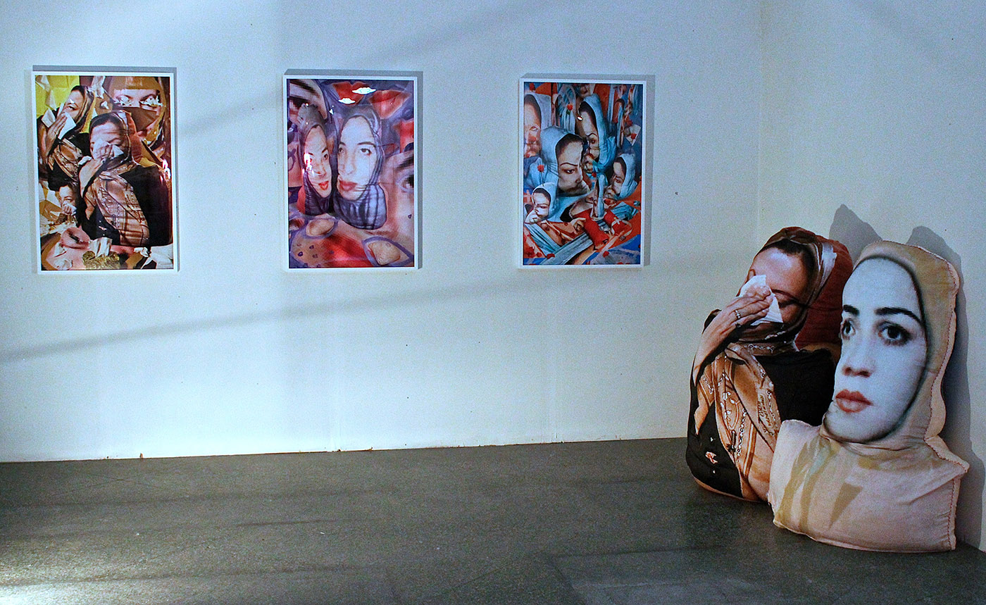 A collection of works by Sheida Soleimani