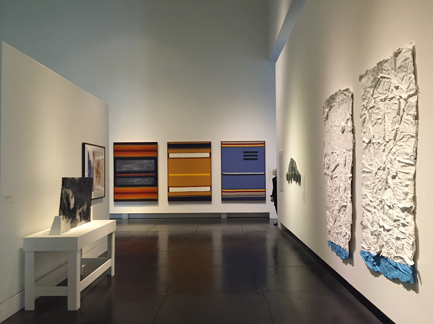 Installation view, 'NW Art Now' at the Tacoma Art Museum (photo by the author for Hyperallergic) (click to enlarge)