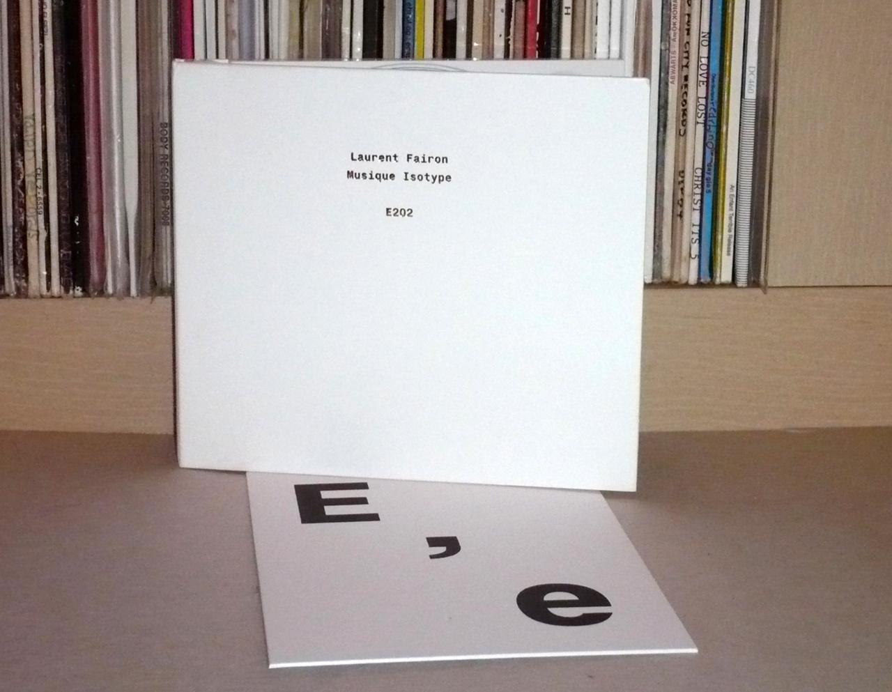 Laurent Fairon's 'Musique Isotype' (2016)