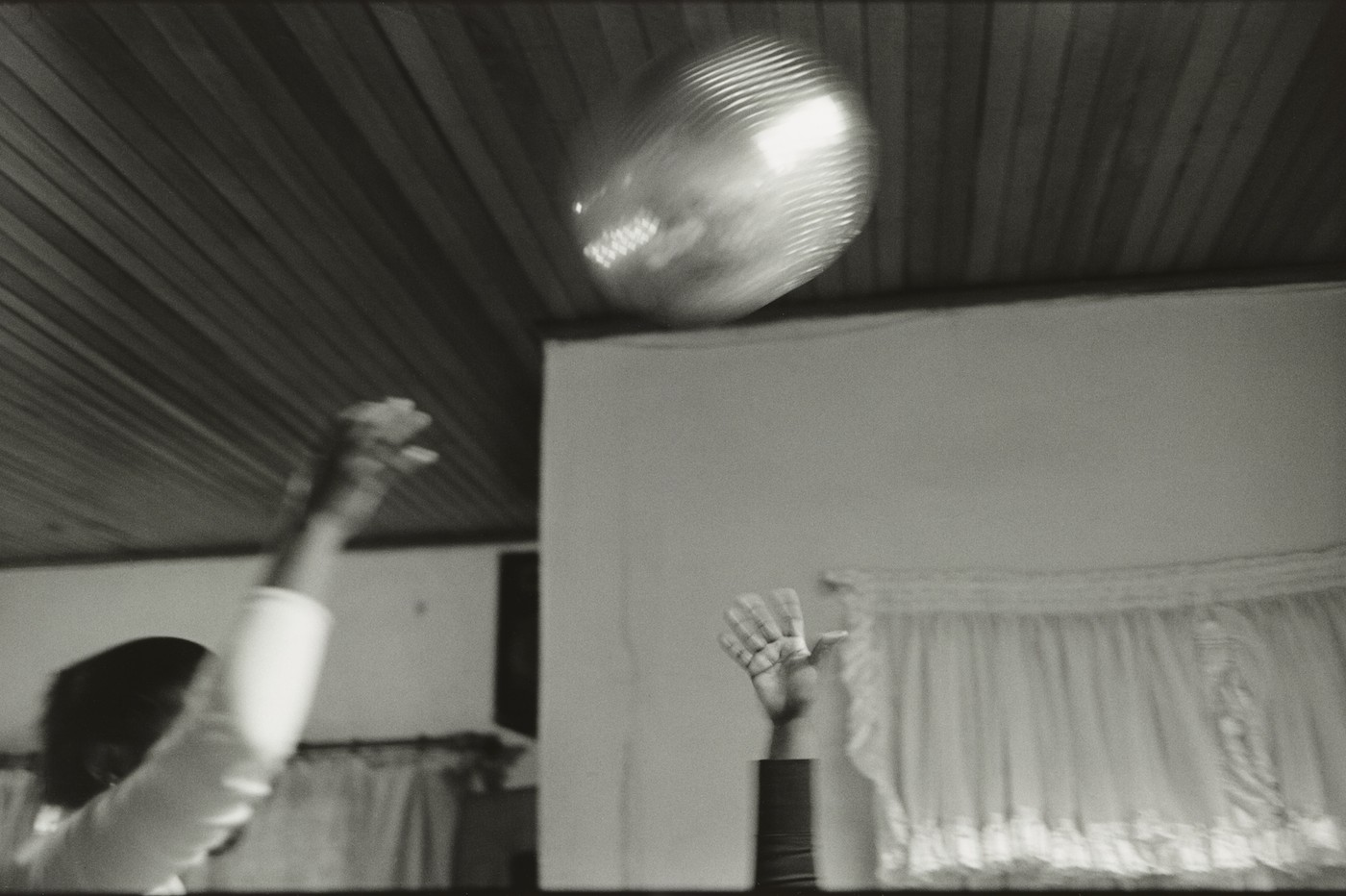 """Ananias Léki Dago, """"Orlando East, Soweto"""" from the series 'Shebeen Blues' (negative 2007, print 2015), gelatin silver print, approx 24 × 20 in (courtesy of the artist, © Ananias Léki Dago)"""