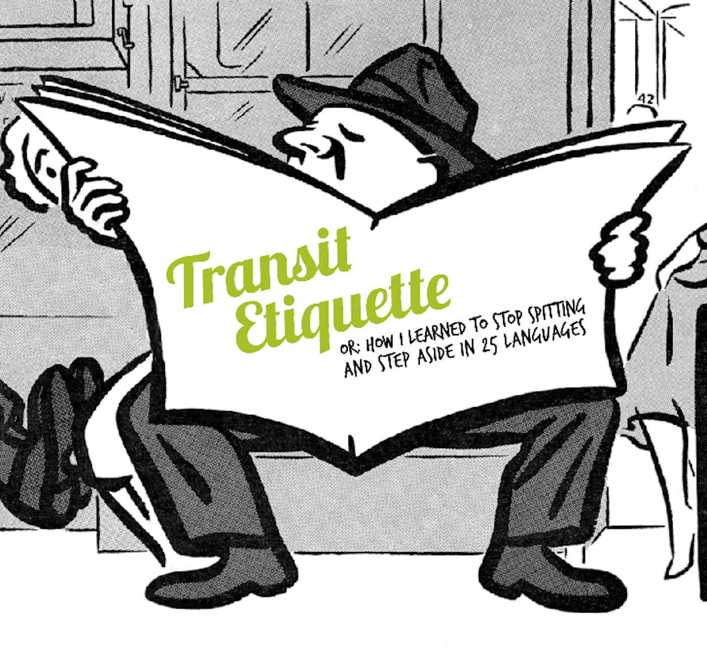 Transit Etiquette Exhibit Logo