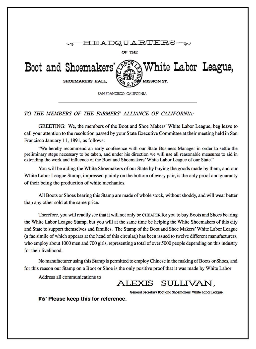 White Labor League