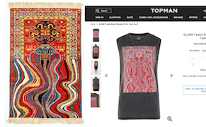 Post image for Artist Claims Topshop Ripped off His Designs