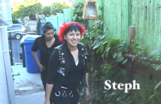 "Angela Flores, ""Life's a Pit"" (2004) (via facebook)"