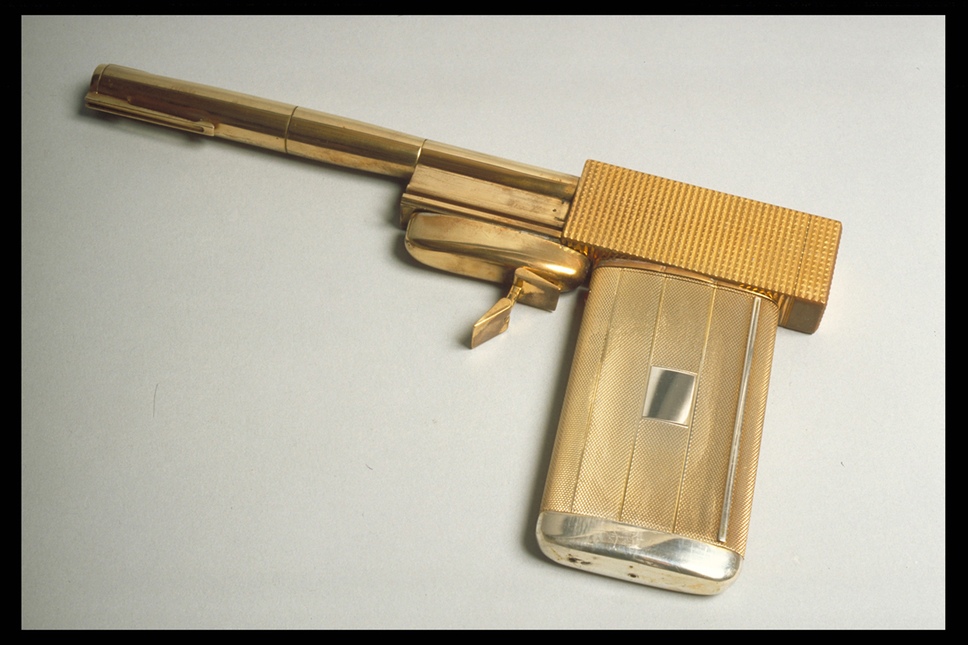 Scaramanga's Golden Gun (© 1974 Danjaq, LLC and United Artsts Corporation; all rights reserved)