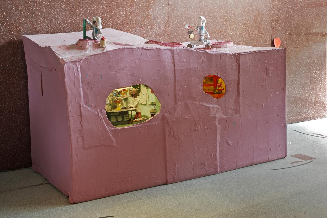"Misaki Kawai, ""Mars Investigation Laboratory"" (2006), mixed media"