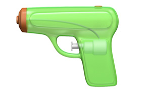 Post image for NRA Loses One as Apple Replaces Revolver Emoji with Squirt Gun