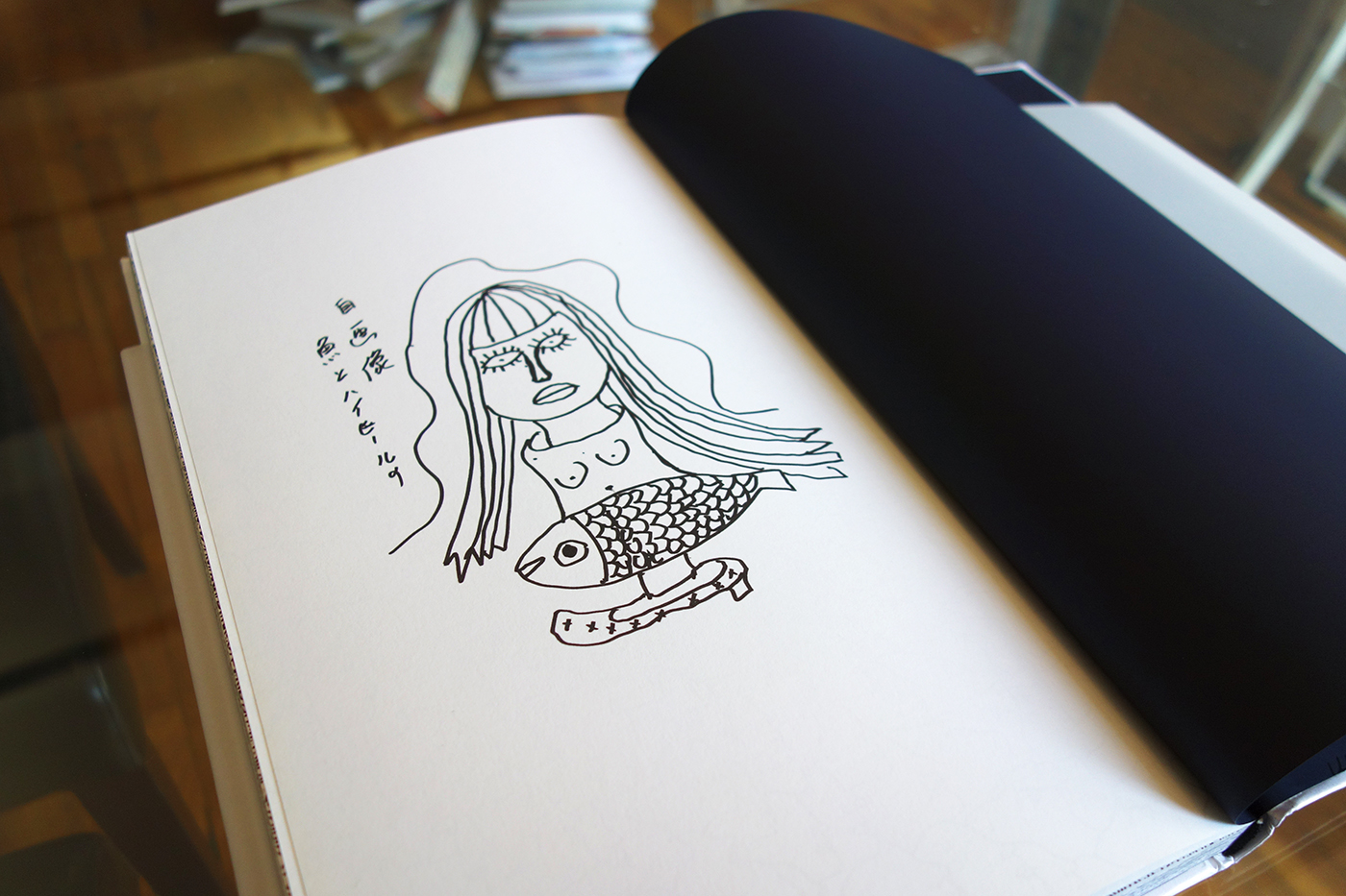 A New Wave Little Mermaid Illustrated By Yayoi Kusama