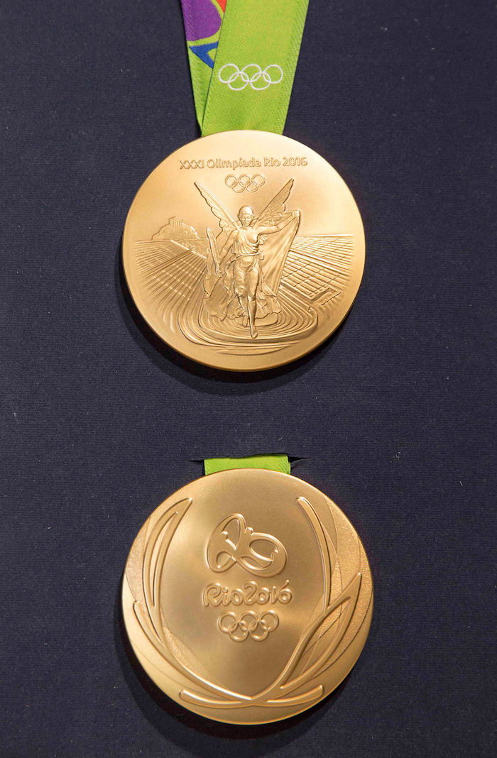 Goldmedaille Olympia 2020