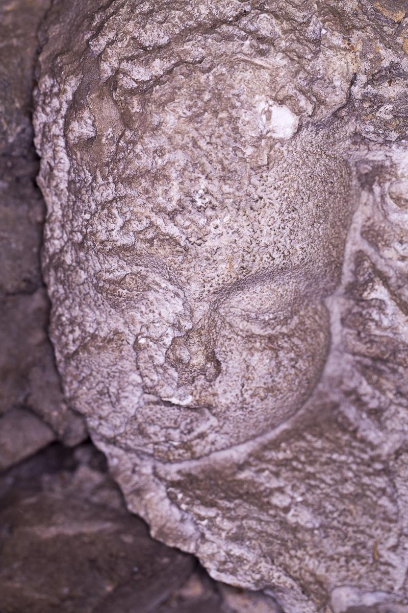 Popes Grotto, Cherub Head