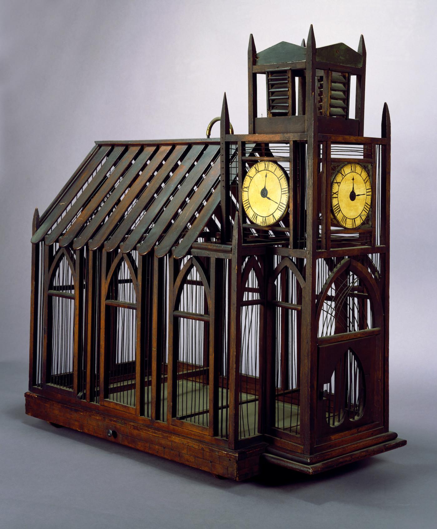 Mid-19th century church birdcage