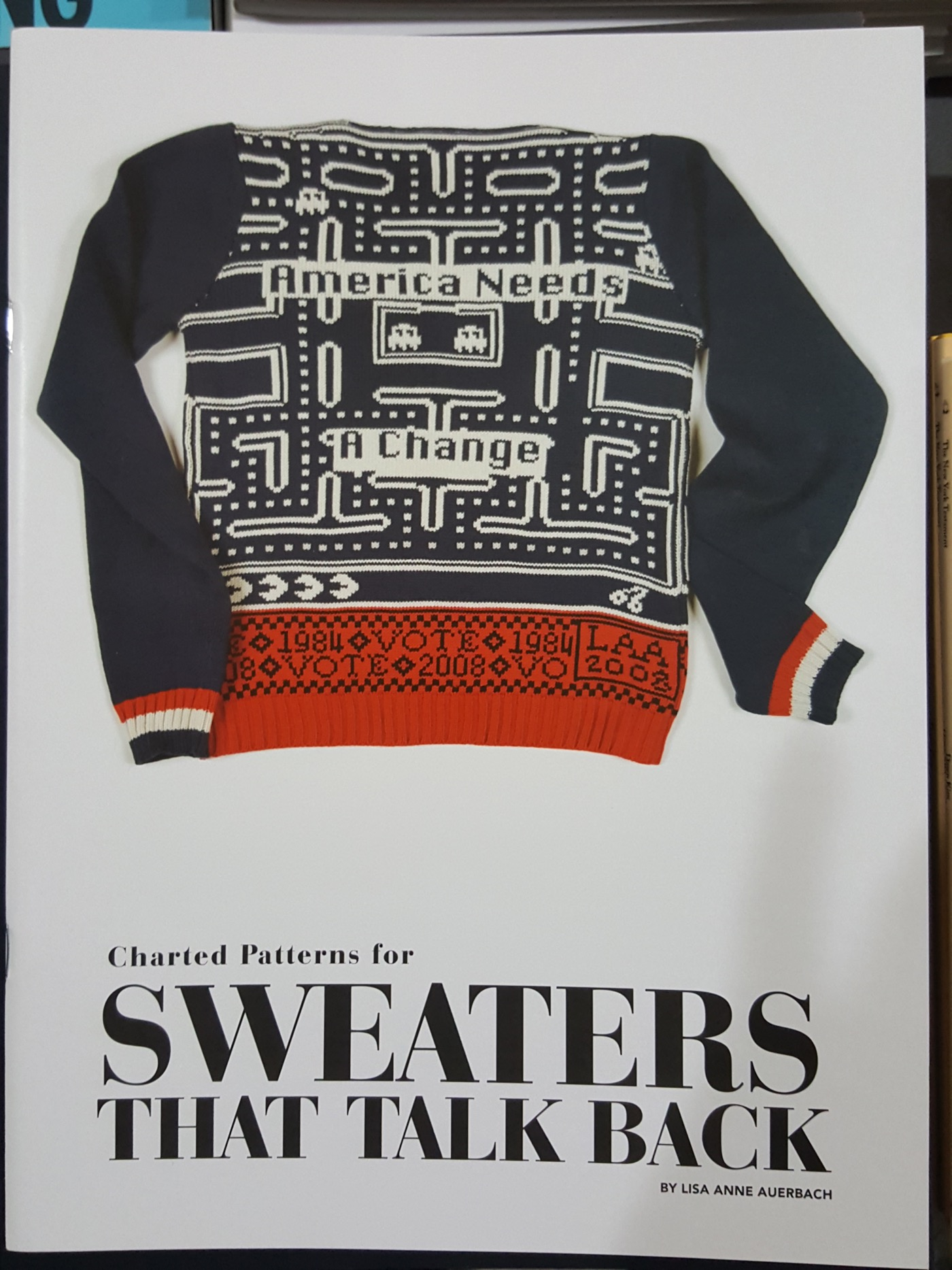 Charted Patterns for Sweaters That Talk Back by Lisa Anne Auerbach
