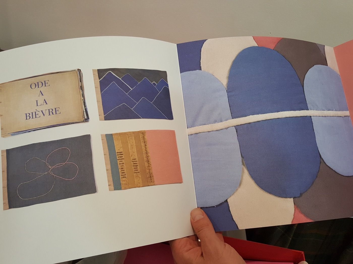 Another insert in Blood on Paper, by Elena Foster and Rowan Watson