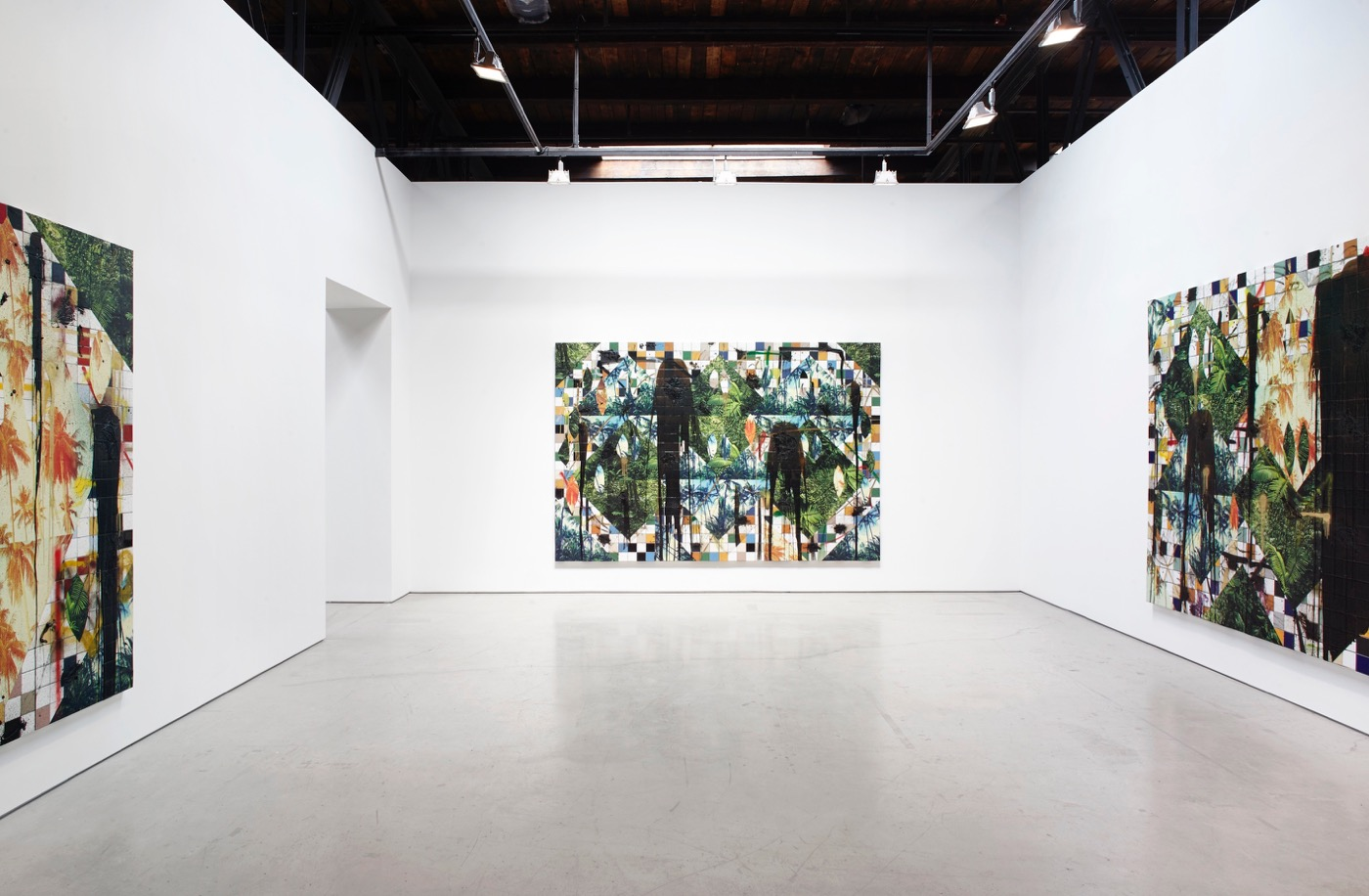 A Weighty Rashid Johnson Show that Doesn't Take Off