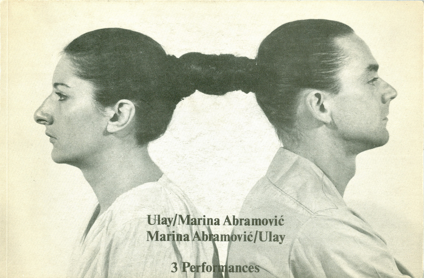 Artists' book by Marina Abramovic and Ulay (via Wikipedia, used under CC VY 3.0 license)