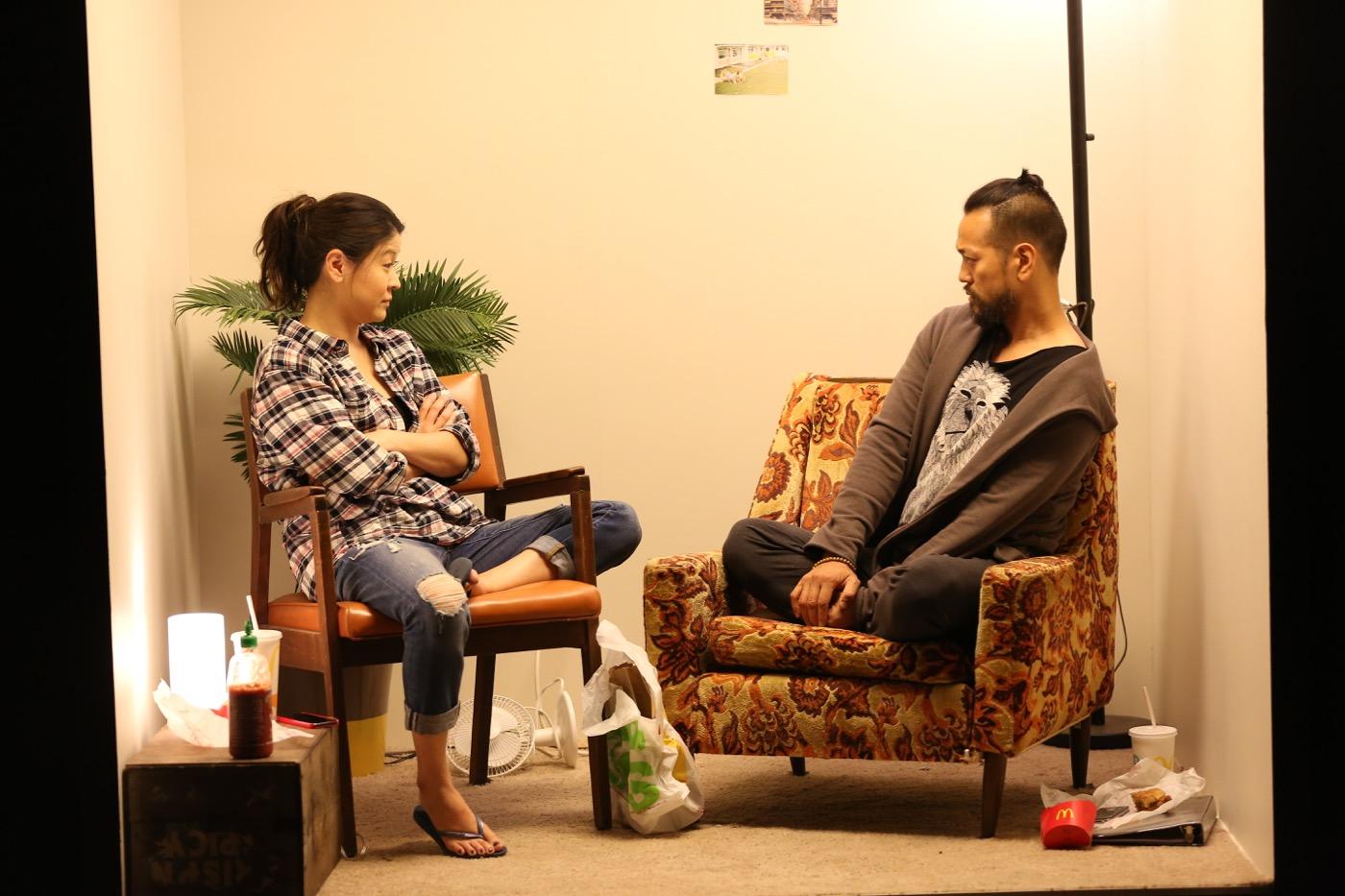 (L-R) Jennifer Lim, Louis Ozawa Changchien