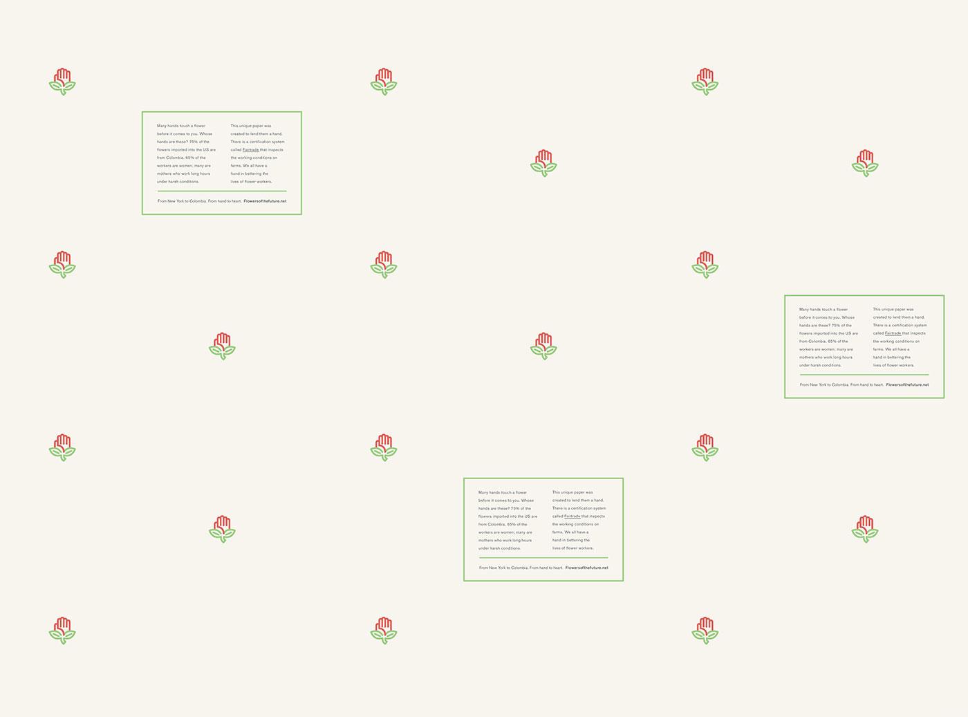 Federico Hewson's Fair Trade flower paper