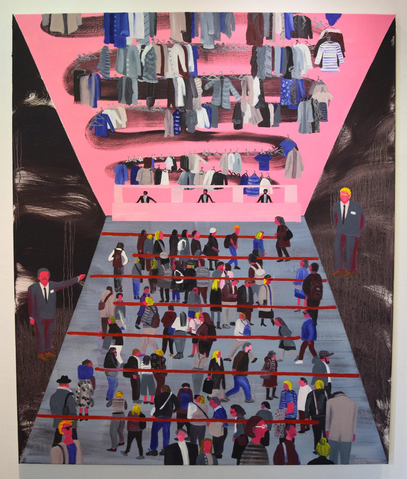"""Hai-Hsin Huang, """"MoMA"""" (2016)"""